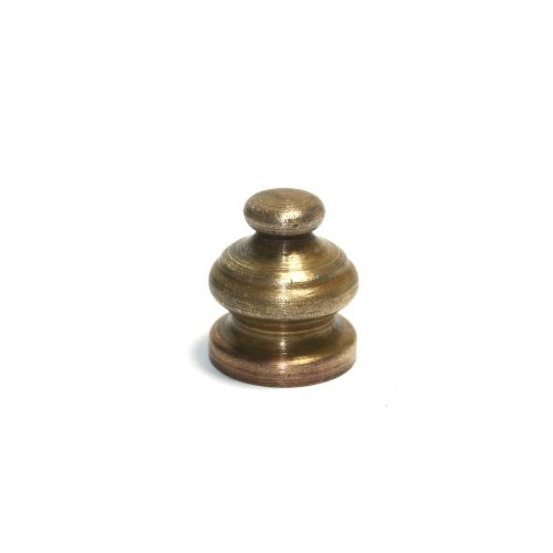 Solid Brass Brushed Antique Finish 20mm High Finial